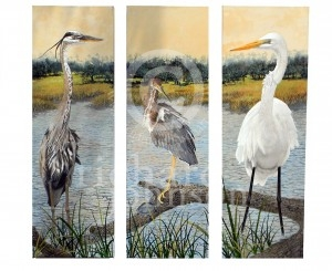 Standing Tall Triptych